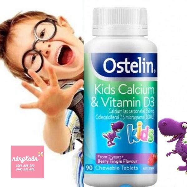 Kẹo Canxi Ostelin con khủng long chính là giải pháp tối ưu cho trẻ.