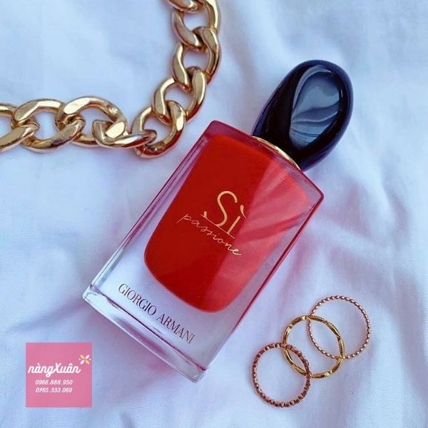 Nước hoa Giogio Armani Sì Passione đỏ