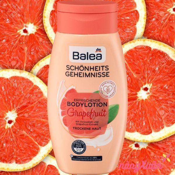 Sữa dưỡng thể BALEA hương trái cây