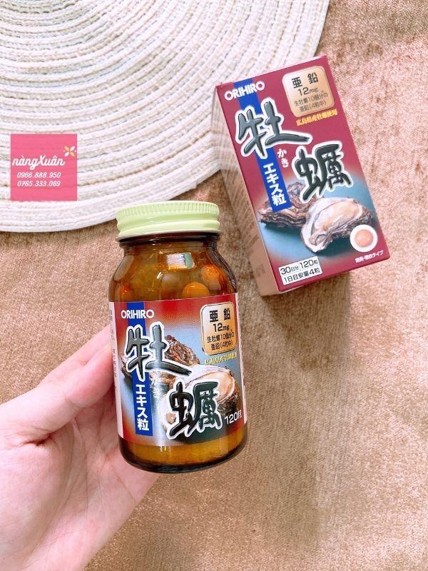 Công dụng viên uống Hàu Orihiro giúp tăng khả năng thụ thai