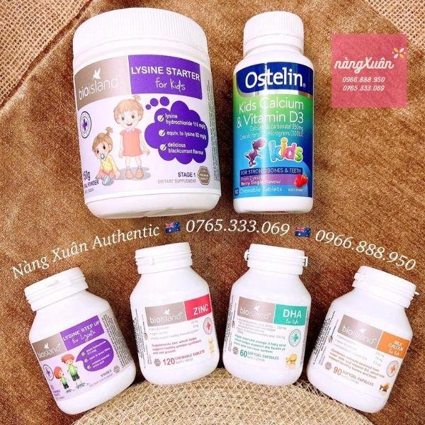 Những vitamin cho bé cần thiết cho sự phát triển hoàn hảo