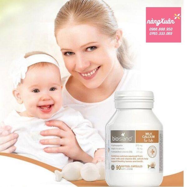 Review Bioisland Milk Calcium 90 viên chính hãng