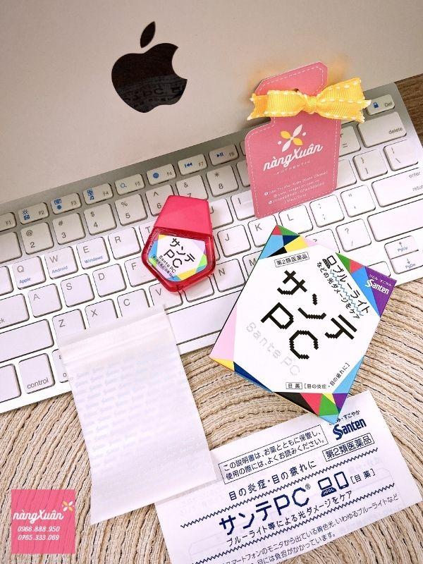 Review Thuốc nhỏ mắt Sante PC chính hãng Nhật