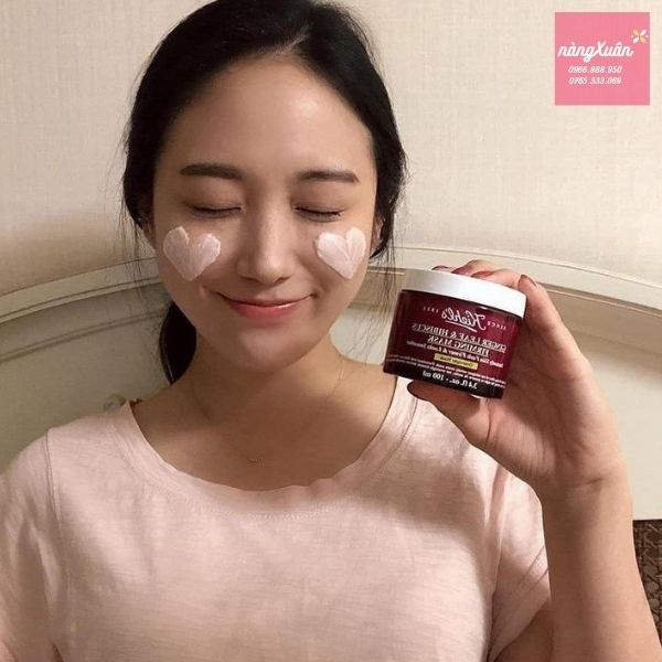 Review mặt nạ ngủ Gừng Kiehls