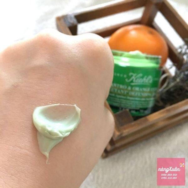Công dụng mặt nạ thải độc Ngò Kiehls