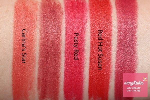 Bảng màu son Charlotte Tilbury Hot Lips 2