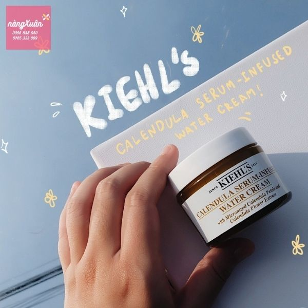 Review Kiehl's Calendula Serurm Infused Water Cream chính hãng