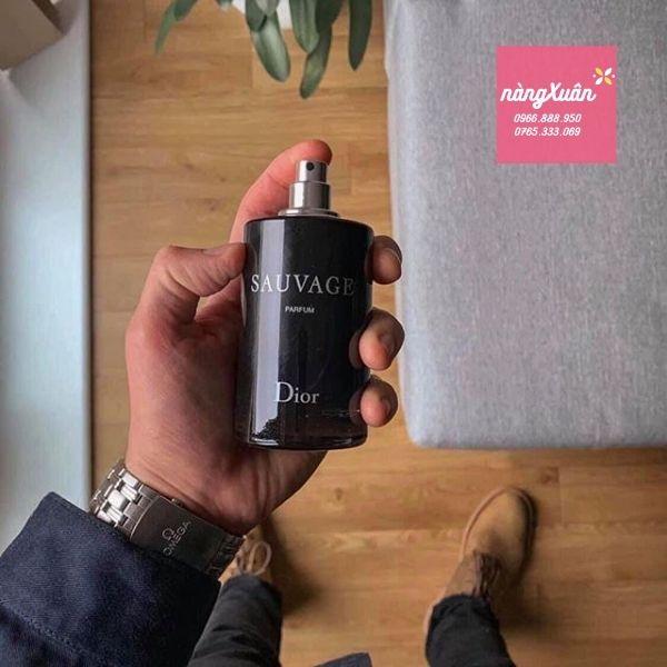 Review nước hoa Dior Sauvage Parfum 100ml authentic giá bao nhiêu