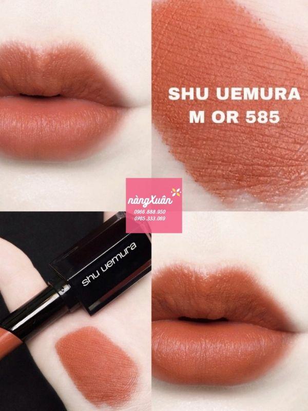 Review son Shu Uemura vỏ đen 585