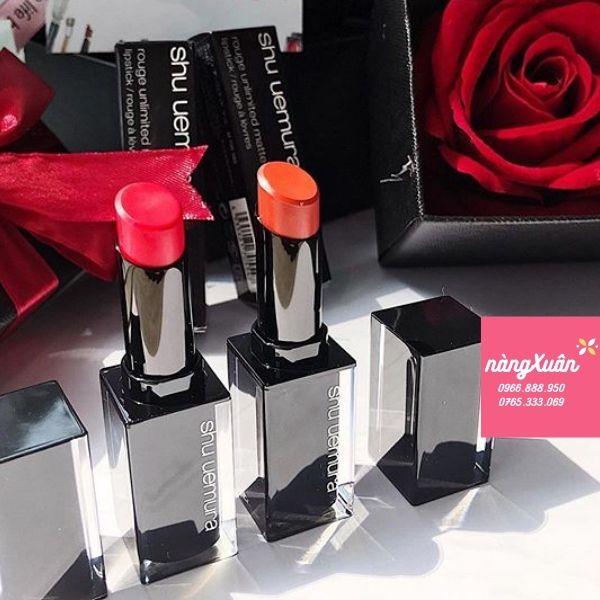 Mua Shu Uemura Lipsticks chính hãng tại NÀNG XUÂN AUTHENTIC