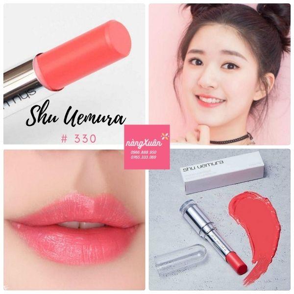 Shu 330 Lipstick vỏ trắng
