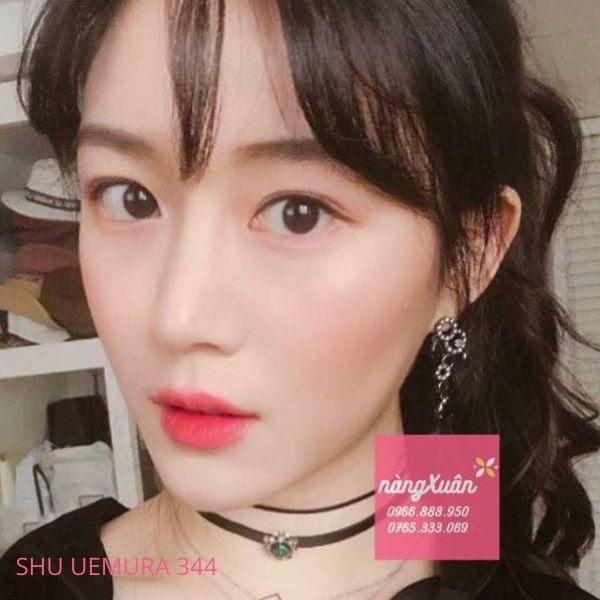 Son Shu Uemura 344 màu hồng đào
