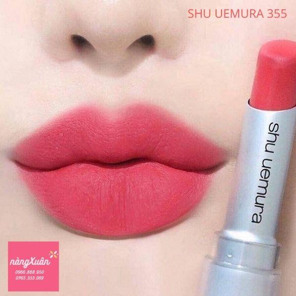 Review son Shu Uemura vỏ trắng 355