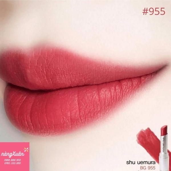Son Shu 955 Đỏ ánh hồng