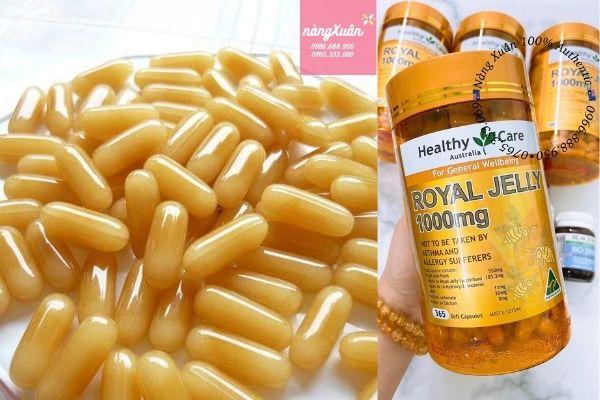 Healthy Care Royal Jelly 1000mg chính hãng Úc
