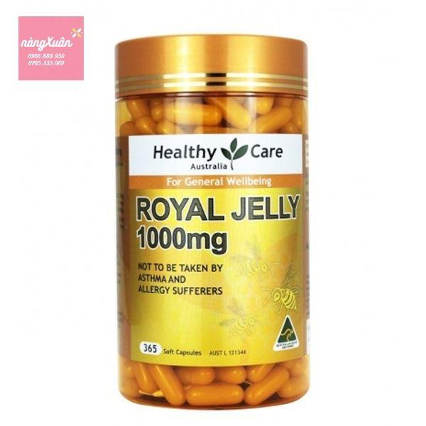 Review giới thiệu Sữa ong chúa Healthy Care