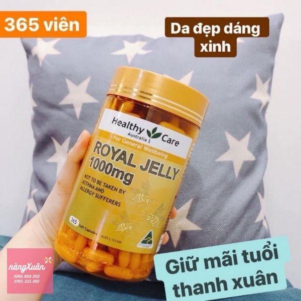 Review công dụng Viên uống Royal Jelly 1000mg
