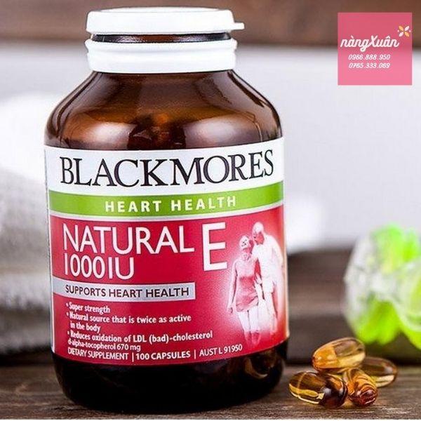 Review Vitamin E Blackmores chính hãng