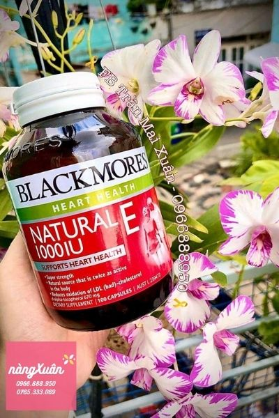 Vitamin E tự nhiên Blackmores