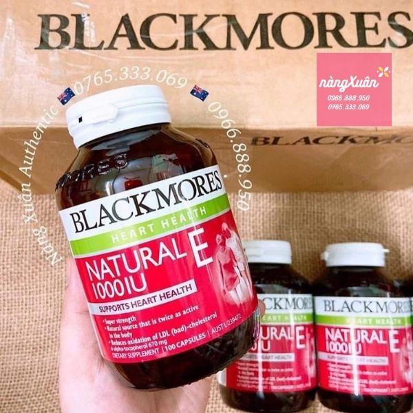 Vitamin E Blackmores 100 Viên