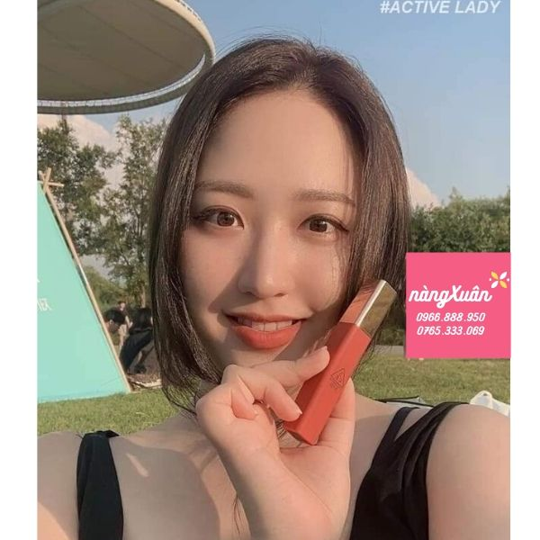 3CE Cloud Lip Tint Active Lady là màu gì