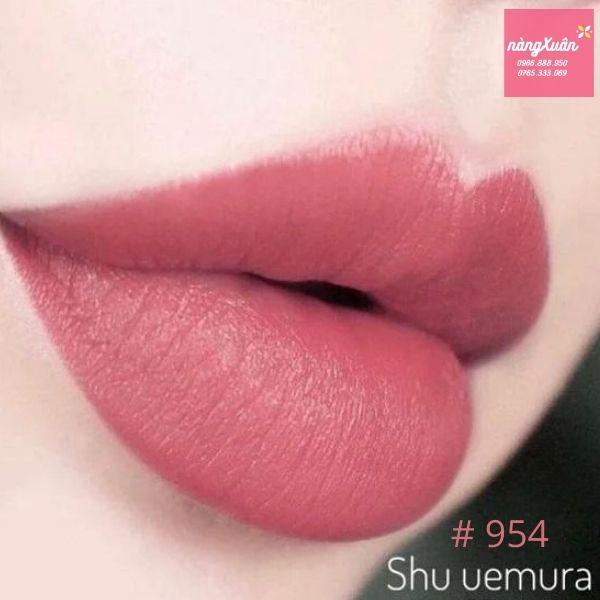 Swatch Son SHU 954 màu hồng đất