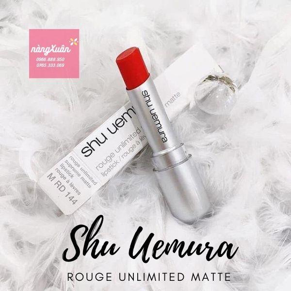 Son Shu Uemura Rouge Unlimited Matte chính hãng