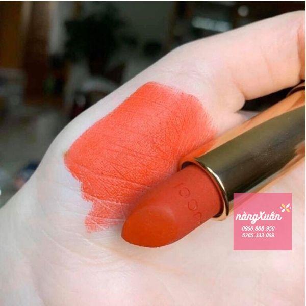 Son Gucci Rouge Matte 302 Agatha Orange là màu gì ?