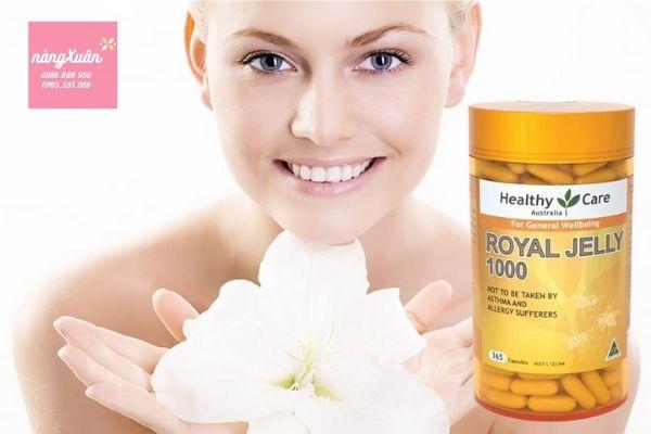 Sữa ong chúa Healthy Care chính hãng