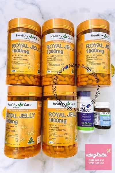Healthy Care Royal Jelly 1000mg