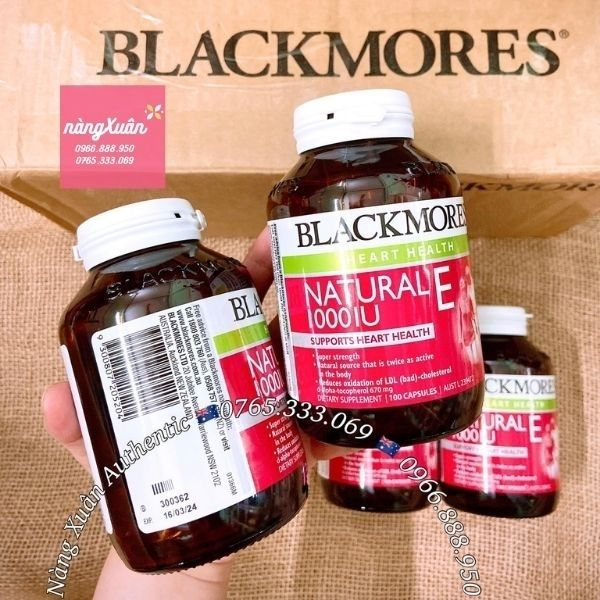 Blackmores Natural E 1000IU của Úc