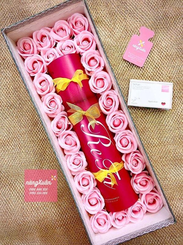 Nhận thiết kế hộp quà hoa hồng sáp thơm phù hợp mọi món quà tặng.