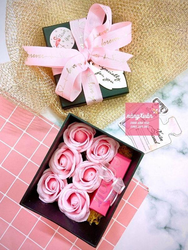 Hộp quà tặng hoa hồng