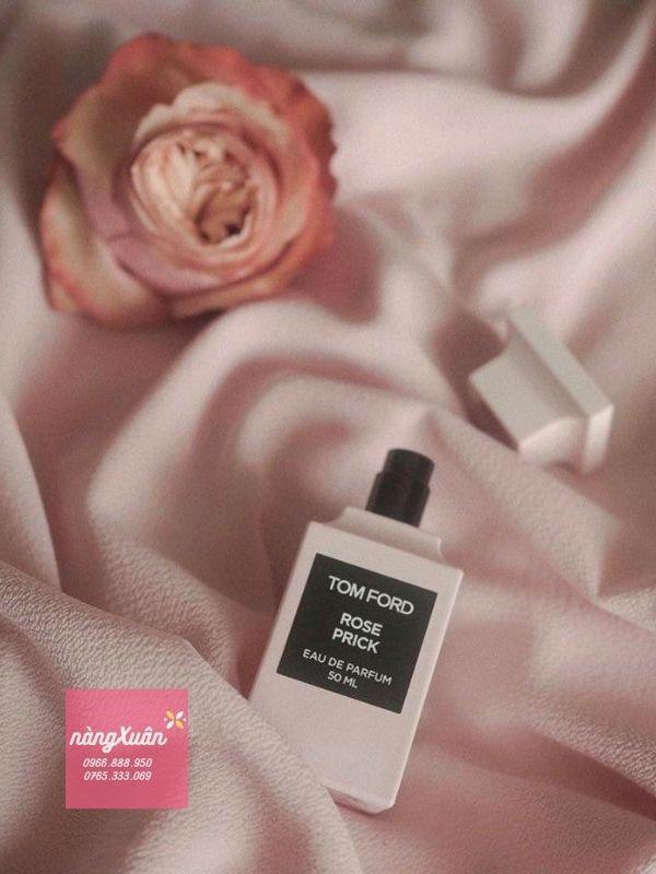 Mùi hương chính của TOMFORD ROSE PRICK pink