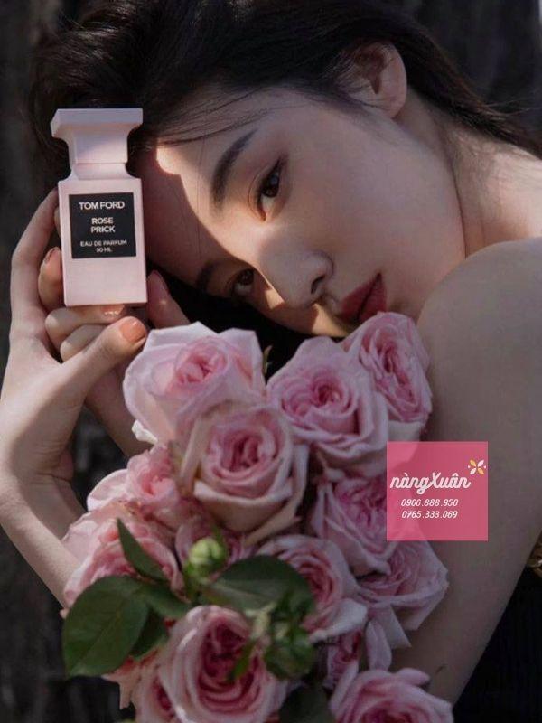Nước hoa TF Rose Prick 50ml - Mùi hương nước hoa của hoa hồng