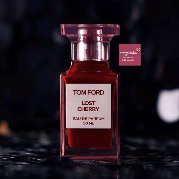 Thiết kế chai nước hoa Tom Ford Lost Cherry đầy tính nghệ thuật làm mê mẩn từ ánh nhìn đầu tiên