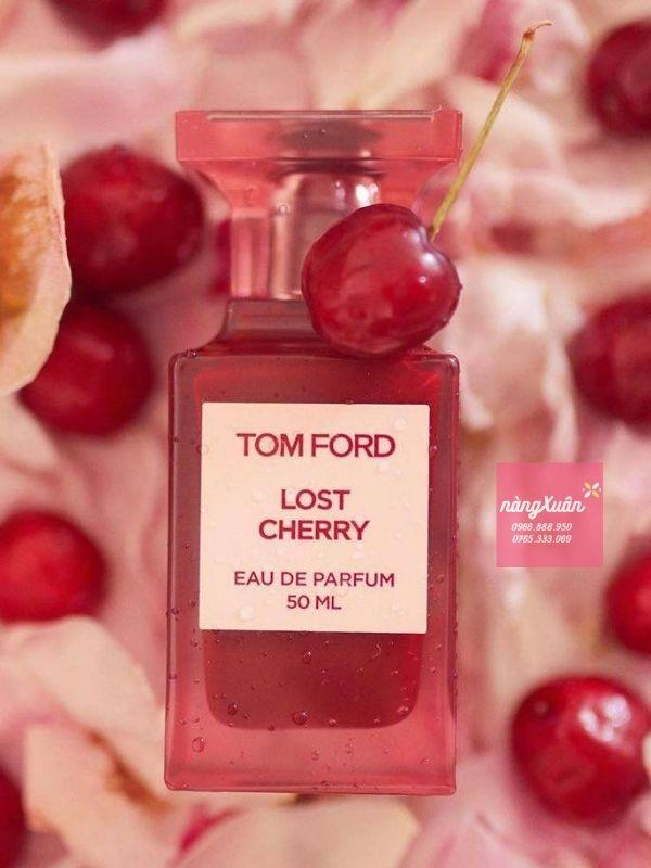 Nước hoa TF Lost cherry EDP 50ML - Sự hòa quyện tinh tế ấy không chỉ dừng lại với sự dịu dàng.