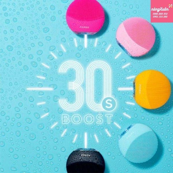 Chế độ Glow Boost có giúp bạn có làn da sạch sâu chỉ trong 30s