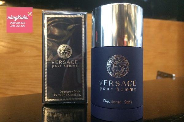 Lăn khử mùi nước hoa nam Versace Pour Homme 75ml