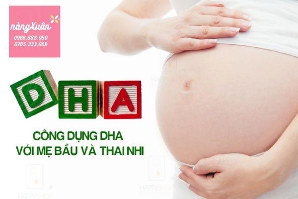 Thực phẩm chức năng bổ sung DHA cho bà bầu