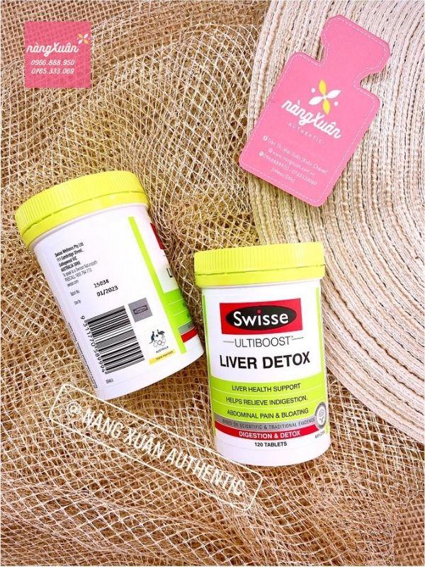 Viên uống bổ gan Liver Detox Swisse