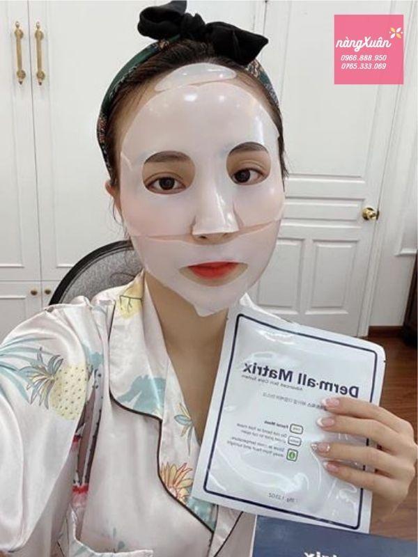 Công dụng mặt nạ Derm-all Matrix