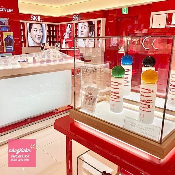 Nước thần SK-II Tokyo Olympic tại Store Nhật