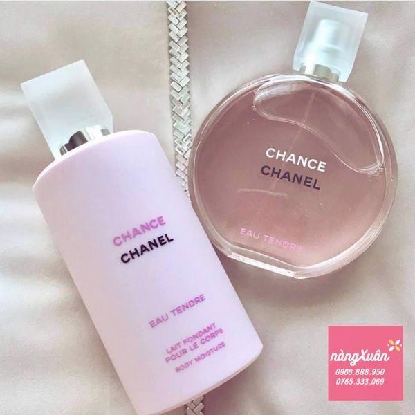 Sữa dưỡng thể Chance Chanel Tendre mang hương thơm nước hoa cùng tên