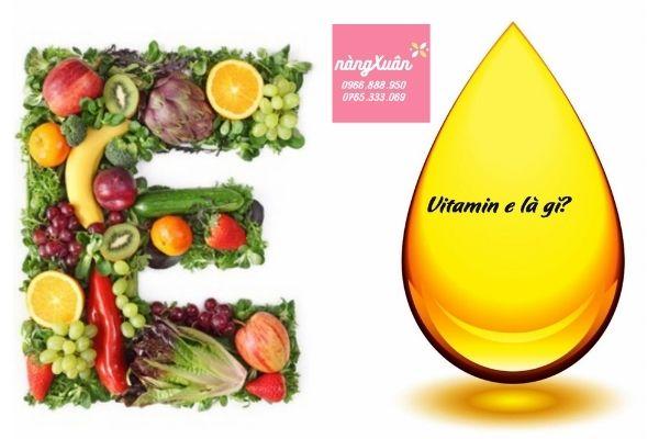 Viên uống bổ sung vitamin E an toàn hiệu quả