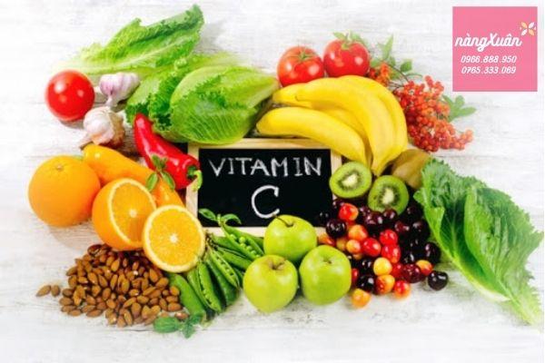 Thực phẩm chức năng bổ sung vitamin C