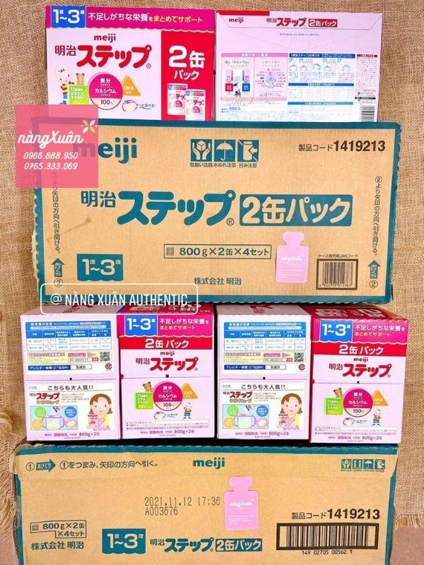 Sữa Meiji chính hãng nội địa Nhật
