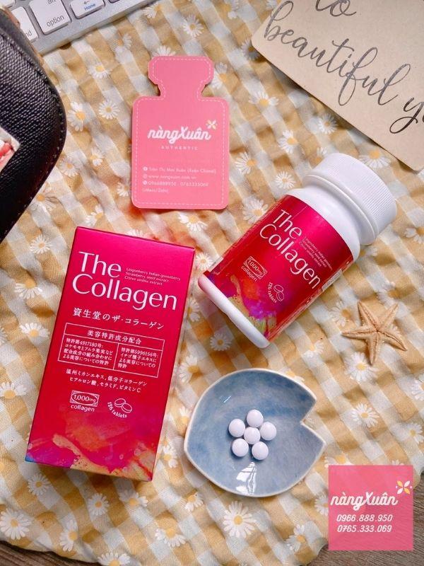 Viên uống bổ sung collagen Shiseido