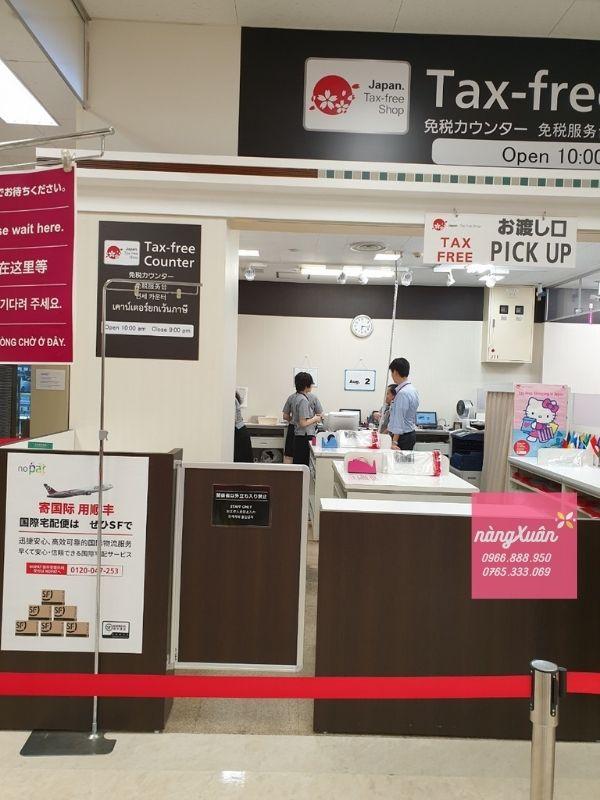 Hình ảnh shop Nàng Xuân Authenic mua sữa Meiji tại store Nhật