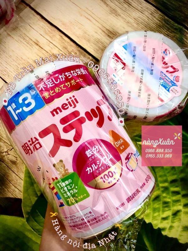Meiji độ tuổi 1-3 chính hãng xách tay Nhật